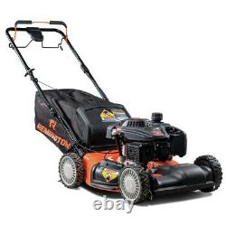 159cc Gas All Wheel Drive Self Propelled Lawn Mower with Side Discharge