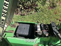 1988 John Deere 318 Garden Tractor Riding Mower Onan Gas Engine FL Barn Find