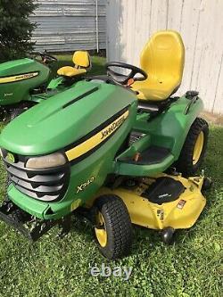 2011 John Deere X540 Lawn Mower Tractor 26HP Kawasaki Twin Engine 54 Deck