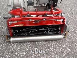 2013 TORO GREENSMASTER FLEX 2100 withNEW 8 BLD REEL LAWN MOWER SHIPS FREE WARRANTY