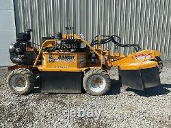 2014 Bandit 2250r Stump Grinder, Self Propelled, Rubber Tire, 25 HP Gas, 1814 Hr