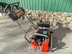2015 TORO Greensmaster 1000 Reel Mower withgroomer 397 HRS. Model 04055 WARRANTY