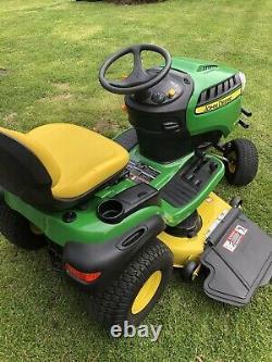 2018 John Deere S240 48 Lawn Mower Tractor Kawasaki 18HP Twin Engine-low Hours
