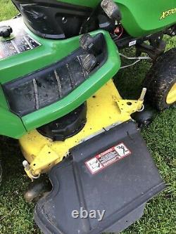 2018 John Deere X570 Lawn Mower Tractor 48 Deck Kawasaki 25HP Twin Engine