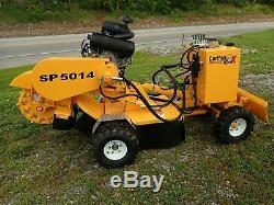 2020 Carlton Sp5014 Self Propeled Stump Grinder, 4x4, 35 HP Vanguard Gas, Blade