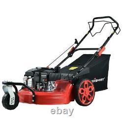 20 in. 3-in-1 170 cc gas walk behind self propelled lawn mower