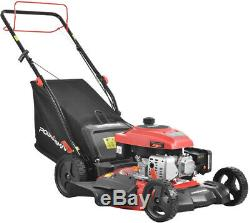 21 170cc Gas Self Propelled Walk Behind Lawn Mower Lightweight Compact New