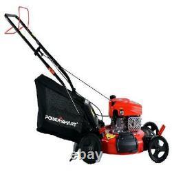 21 Self Propelled Lawn Mower Walk Behind 3 In 1 Bag 170cc Gas Lightweight Tool