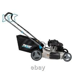 21 in. 200 cc Gas Recoil Start Self-Propelled 3-in-1 Walk Behind Push Mower