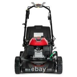 21 in. 3-in-1 Variable Speed Gas Walk Behind Self Propelled Lawn Mower with Blad