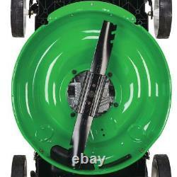 21 in. Rear-wheel drive gas walk behind self propelled lawn mower with kohler