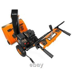 24 212cc Snow Blower 2 Stage Self Propelled Electric Start Gas Snowblower