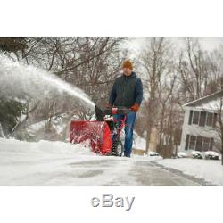 24 In. 208 Cc Two-Stage Gas Snow Blower With Electric Start Self Propelled NEW