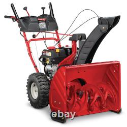 26 In. 243 Cc 2-Stage Gas Snow Blower With Electric Start Self Propelled And 1-H