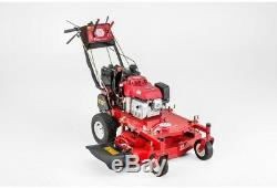 32 in. Honda Electric Start WithRecoil Backup Gas Self Propelled Walk Behind Mower