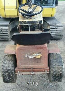 725 LAWN CHIEF RIDING LAWN MOWER COMPLETE CHASSIS for restoration / modification