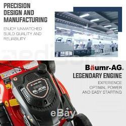 BAUMR-AG 20 Self-Propelled Lawn Mower 220cc 4-Stroke Petrol Push Lawnmower