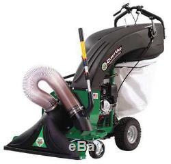 BILLY GOAT QV550HSP Self-Propelled Litter Vac, 5.5 HP, 36 Gal