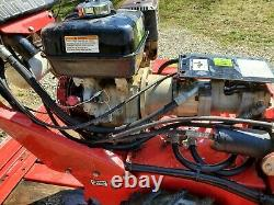 Barreto 912 Gas Self Propelled Trencher with Trailer Only 250 Hours
