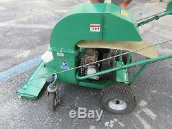 Billy Goat 10 hp Lawn Leaf Debris Vacuum Self Propelled VQ1002SP