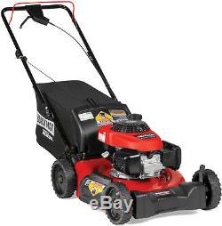 Black Max 21 Rear-Wheel Drive Self-Propelled Gas Lawn Mower 160cc Honda Engine
