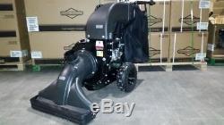 Bulldog Gas Self Propelled Walk Behind Lawn Leaf Vacuum Vac Parking Lot Litter
