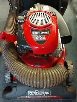 CRAFTSMAN 24 6.5 HP Self Propelled Chipper/Shredder/Blower/VAC 24A-070H799