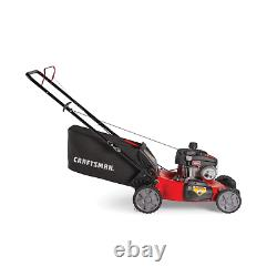 CRAFTSMAN M210 140-cc 21-in Self-Propelled Gas Push Lawn Mower with Briggs