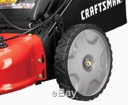 CRAFTSMAN M230 163-cc 21-in Self-Propelled Gas Push Lawn Mower with Briggs & Str
