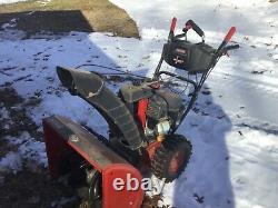 CRAFTSMAN QUIET 26in 208-cc Self-Propelled Snow Blower Electric Start WONT START