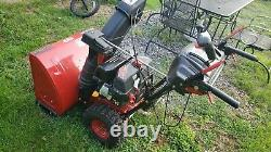 CRAFTSMAN Quiet Engine 26in 208-cc Self-Propelled Snow Blower Electric Start