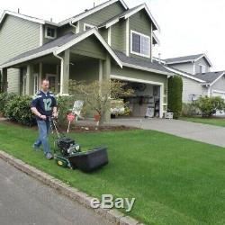 California Trimmer 20 in. 7-Blade Gas Walk Behind Self-Propelled Reel Lawn Mower