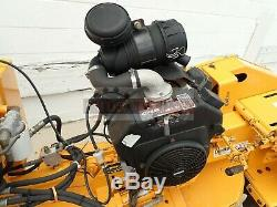 Carlton 2500-4 Self Propelled Stump Grinder, 27hp Kohler Gas, 937 Hrs, Local Trade