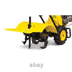 Counter-Rotation Rear Tine Tiller 212cc 4-Cycle Self-Propelled Agricultural Tire