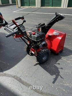 Craftsman 26-in 208-cc Two-Stage Self-Propelled Gas Snow Blower Electric Start