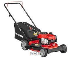 Craftsman Lawn Mower, 21 inch Briggs, New Self Propelled, Gas Push, Walk Behind