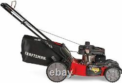 Craftsman M215 159cc 21-Inch 3-in-1 High-Wheeled FWD Self-Propelled Gas Powered