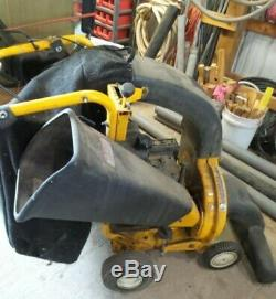 Cub Cadet CSV260 Self propelled Chipper Shredder Vacuum