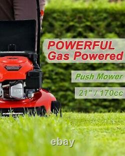 DB2194PR 21 3-in-1 170cc Gas Self Propelled Lawn Mower NEW
