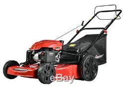DB9422SR 22 in. 3-in-1 200cc Gas Self Propelled Lawn Mower