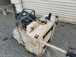 EDCO Street Road Saw 16 SS-16-11R Self Propelled Wet saw 11HP Gas Engine