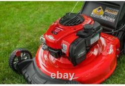 Gas Mower 140 cc Walk Behind Push with 2-in-1 cutting TriAction Cutting System
