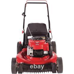 Gas Walk Behind Push Lawn Mower Bag Mulch Kit Series Briggs & Stratton Engine