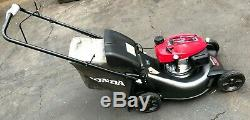 HONDA HRN216VKA 3in1 Variable Speed Gas Walk Behind Self Propelled Lawn Mower LN