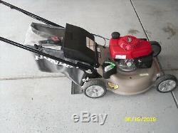 HONDA HRR216VKA Honda 21 inch 3-in-1 Gas Walk Behind Self Propelled Mower