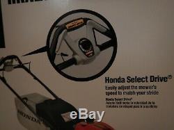 Honda 21 Self-propelled Gcv200 Engine Lawn Mower Hrx217vka $550