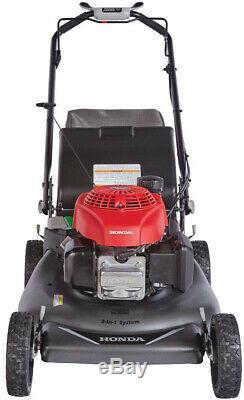 Honda Gas Lawn Mower 21 in. 3-in-1 Walk Behind Variable Speed Self Propelled