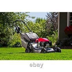 Honda Gas Self Propelled Lawn Mower 21 in. Steel Deck Electric Start Walk Behind