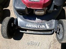 Honda HRC216 21 Commercial Walk-Behind Self-Propelled Lawn Mower