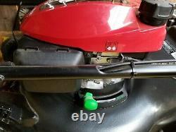 Honda HRN216VKAA GCV170 Gas Mower self propelled with bag